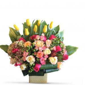 #choosetochallenge IWD Luxury Flower Box