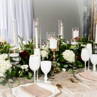 Luxury wedding table scape 1