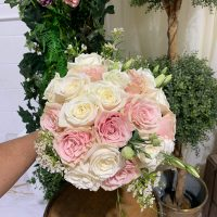 bridal bouquet all rose